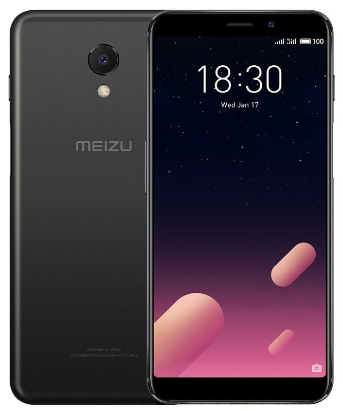 Сенсорный мобильный телефон Meizu M6s 3/32 Black