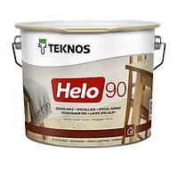 Teknos Helo 90 9 л глянцевый, уретано-алкидный лак для дерева