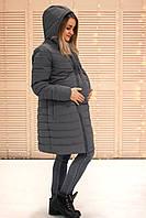 Зимняя куртка для беременных 3в1 - Серый