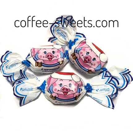 """Шоколадные конфеты Кутюрье (бабочки) """"Хрюшки"""", фото 2"""