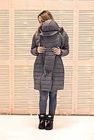 Зимняя слингокуртка 3в1 - Серый