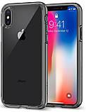 "Чохол Spigen Ultra Hybrid iPhone Xs / X {5.8 ""} space crystal (057CS22131) EAN / UPC: 8809565300288, фото 2"