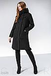 Кашемировое спортивное пальто черного цвета, фото 2