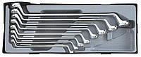 Набор ключей накидных под 75° 8пр. Force T5081 F