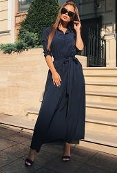 Платье черное Viravi Wear, модель 1020