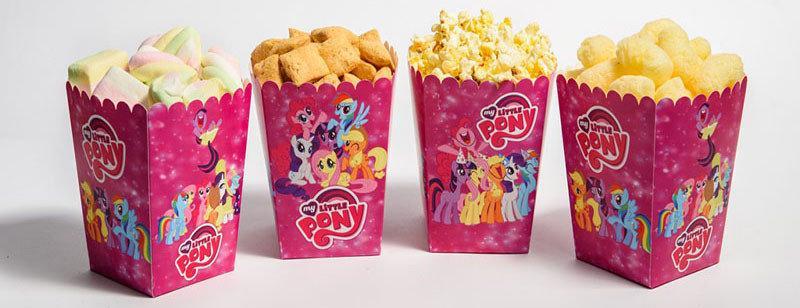"""Коробочки для сладостей """" Little Pony """" пони  5 шт/уп."""