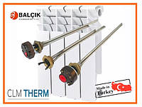 Тэны для алюминиевого радиатора Balcik 0.7 кВт Турция (левая и правая резьба)