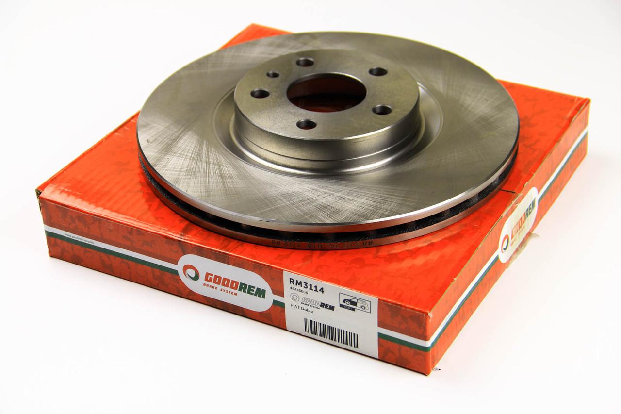 Тормозной диск передний Opel Combo 2012- (284mm) GOODREM