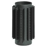 Радиаторная труба Ø130, 50см, 2мм, стальная, Parkanex, Польша