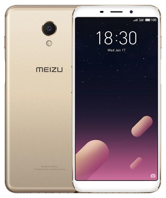 Сенсорный мобильный телефон Meizu M6s 3/32 Gold