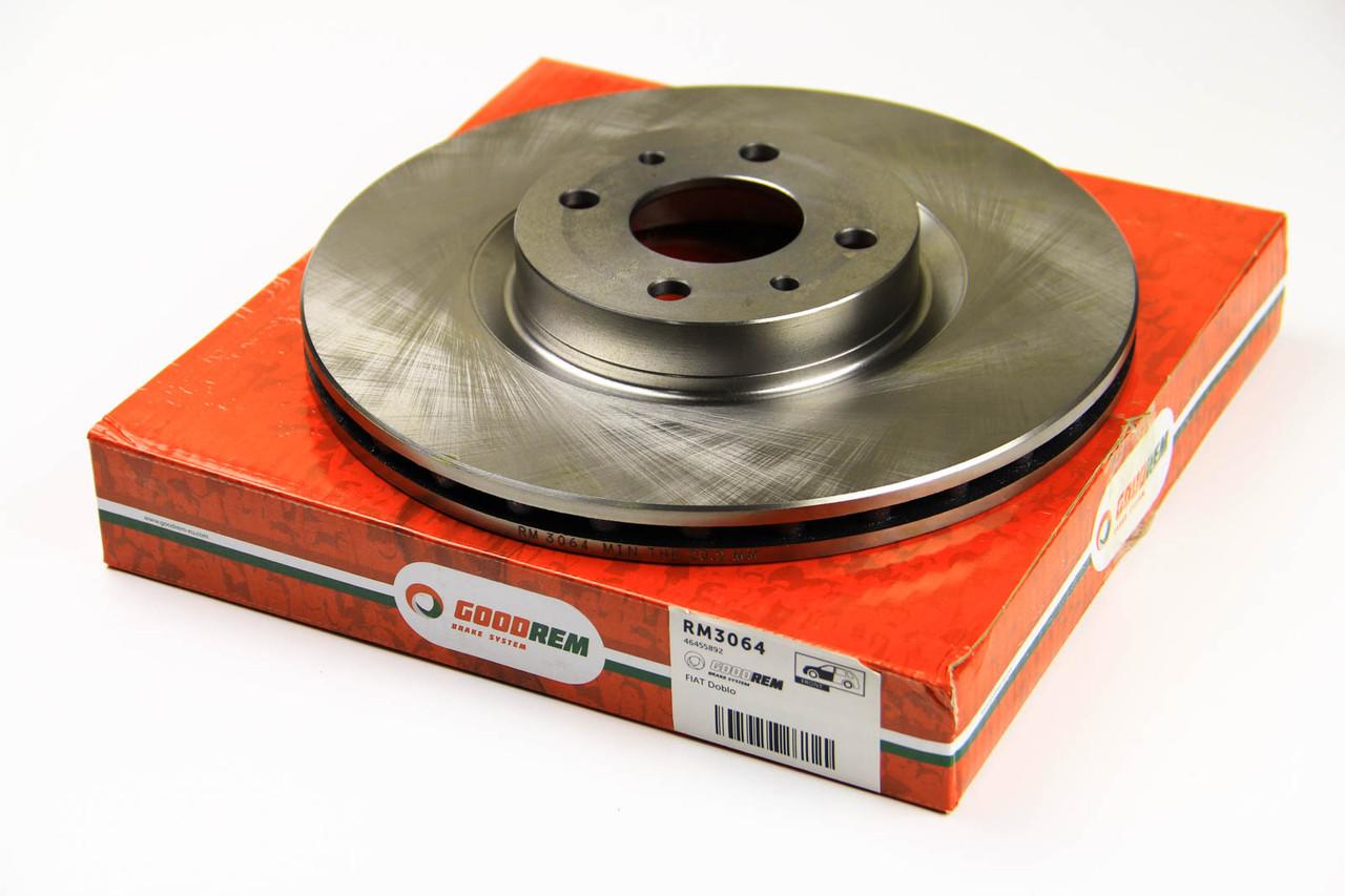 Тормозной диск передний Fiat Doblo 2005-2009 (284X22)