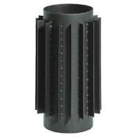 Радиаторная труба Ø180, 50 см, 2мм  стальная, Parkanex, Польша