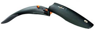 """Крыло переднее 28"""" Pl SKS Shockblade быстросъемное, гибкие боковины, черное"""