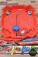 Bayblade BurstTop Force Набор 2 Бейблейд с пусковыми механизмами и арена TD999L + подарок