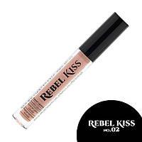 Rebel Kiss Жидкая матовая помада №02
