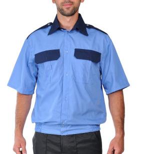 73ec61f0ec8 Рубашка голубая с коротким рукавом