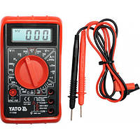 Прибор цифровой для определения электрических параметров YATO YT-73080