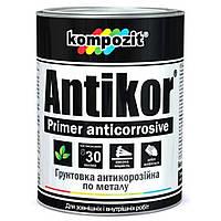 Kompozit Грунтовка для металла красно-коричневая ANTIKOR, 15 кг