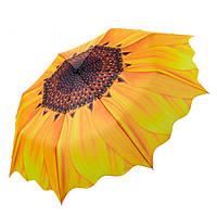 Оригинальный зонт Подсолнух от дождя и солнца, яркий женский зонтик, с доставкой по Киеву и Украине