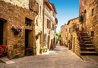 Фотообои бумажные на стену 366х254 см 8 листов: Улицы Тоскании №168, фото 1