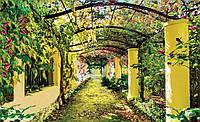 Фотообои бумажные на стену 368х254 см : Цветочная арка (136P8CN), фото 1