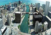 Фотообои бумажные на стену 368х254 см : Портовой город (148P8CN), фото 1