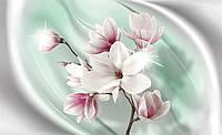 Фотообои бумажные на стену 368х254 см : Цветок яблони (21191P8CN), фото 1