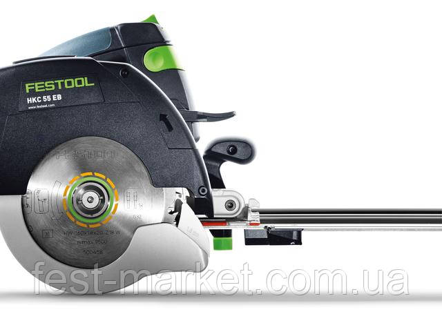 Аккумуляторная дисковая пила HKC 55 Li 5,2 EBI-Set-SCA-FSK 420 Festool 575735