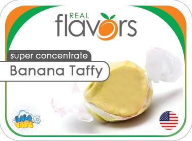 Ароматизатор Real Flavors Banana Taffy (Жевательная конфета Банан)