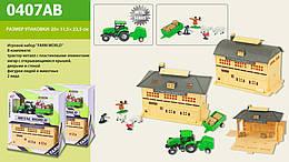 "Набор ""FARM WORLD"" трактор, с аксесс., в кор. 24*20*12см /48-2/"