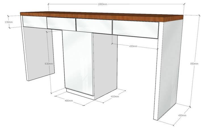 Столик для салона красоты, фото 2