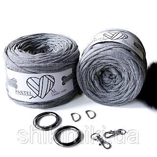 Трикотажная пряжа Pastel XL Люрекс, цвет Серебро