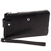 Клатч-кошелек Karya 0632-076 мужской кожаный черный, фото 1