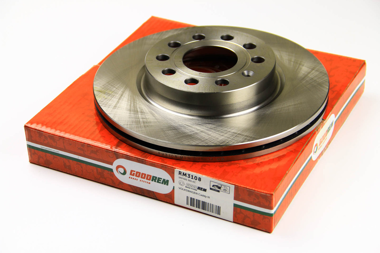 Тормозной диск передний Skoda Octavia 2004- (280x22) GOODREM