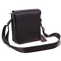 Мужская сумка кожаная чёрная  Eminsa 6022-37-1, фото 1