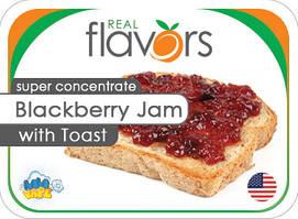 Ароматизатор Real Flavors Blackberry Jam with Toast (Тост с ежевичным джемом)