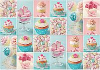 Фотообои готовые 254x184 см Конфеты и сладости (10447CN), фото 1