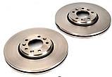 Тормозной диск передний Fiat Scudo 2007- (304x26), фото 2