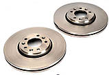 Тормозной диск передний Citroen Jumpy 2007- (304x26), фото 2