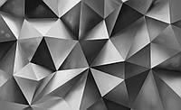 Фотообои готовые 368x254 см 3D треугольники (10162CN), фото 1
