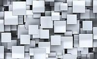 Фотообои готовые 368x254 см Абстрактные квадраты (2808CN), фото 1
