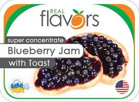 Ароматизатор Real Flavors Blueberry Jam with Toast (Тост с черничным джемом)