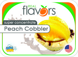 Ароматизатор Real Flavors Peach Cobbler (Персиковый сапожник)