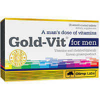 Витамины Olimp Sport Nutrition Gold Vit For Men, 30 tab, фото 1