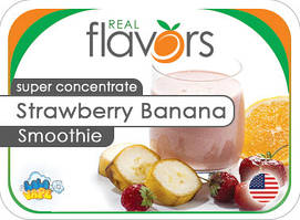 Ароматизатор Real Flavors Strawberry Banana Smoothie (Клубнично-банановый смузи)