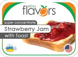 Ароматизатор Real Flavors Strawberry Jam with Toast (Тост с клубничным джемом)