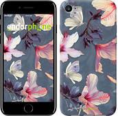 """Чехол на iPhone 8 Нарисованные цветы """"2714c-1031-2911"""""""