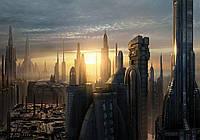 Фотообои готовые 368x254 см Восход солнца над городом (1694.20514), фото 1