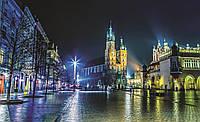 Фотообои готовые 368x254 см Город Краков (1314CN), фото 1