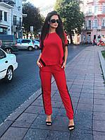 Костюм брючный красный, арт.1001, фото 1